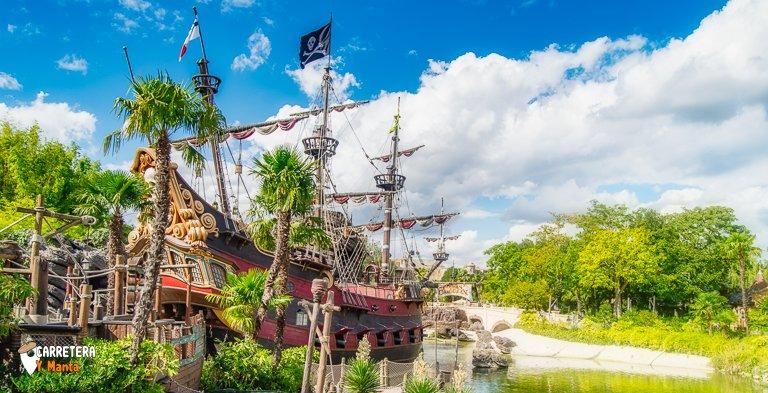 Adventureland. Donde Viven los piratas en Disneyland