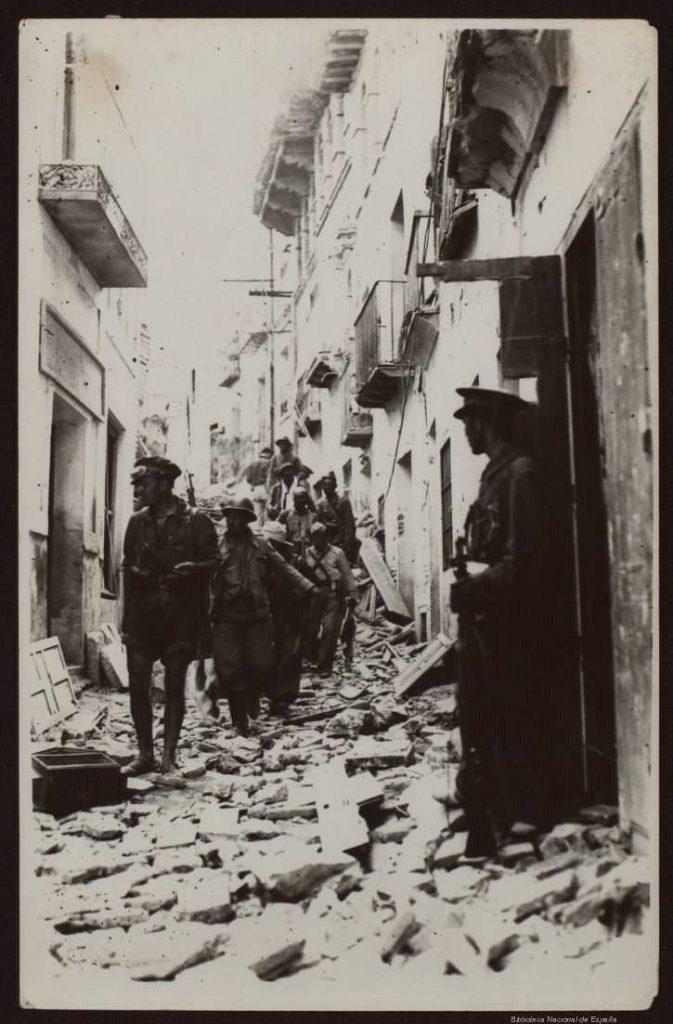 foto guerra civil española