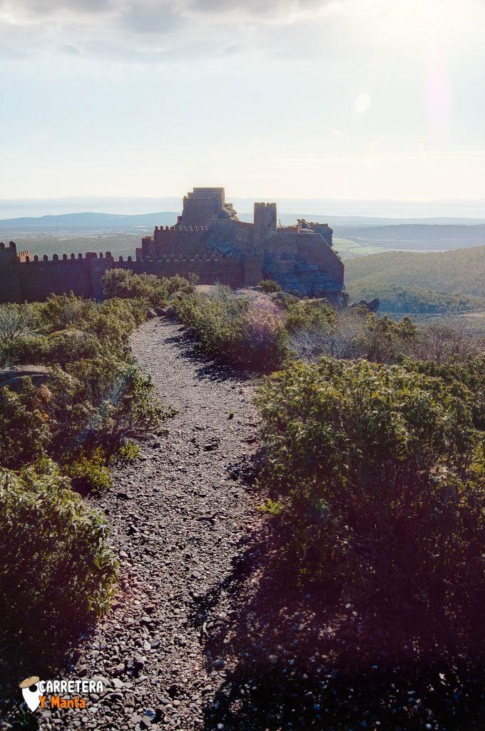 ruta en coche teruel, castillo peracense
