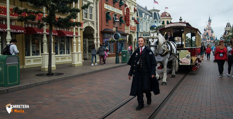 Main Street USA. La entrada a Disneyland
